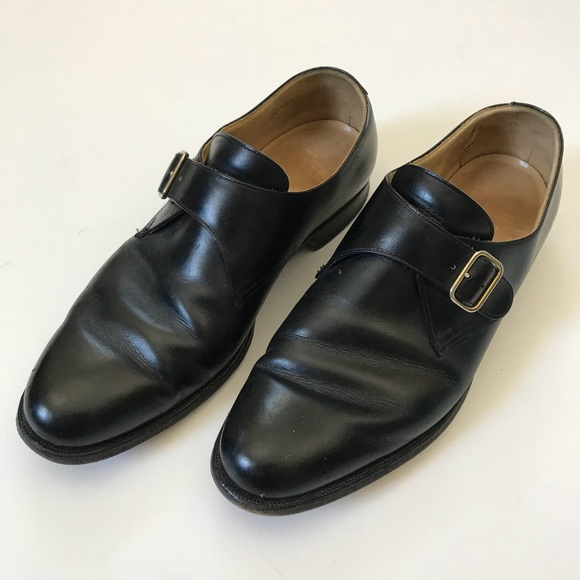 0a3adc0f857 Brooks Brothers Other - Brooks Brothers Peal   Co Monk Strap Leather Shoes